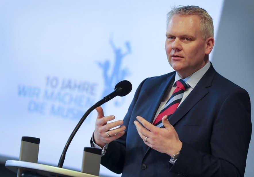 Kulturminister Björn Thümler. Foto: Gert Westdörp