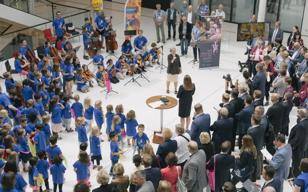 10 Jahre Wir machen die Musik! – Erfolgreiche Geburtstagsfeier im Niedersächsischen Landtag