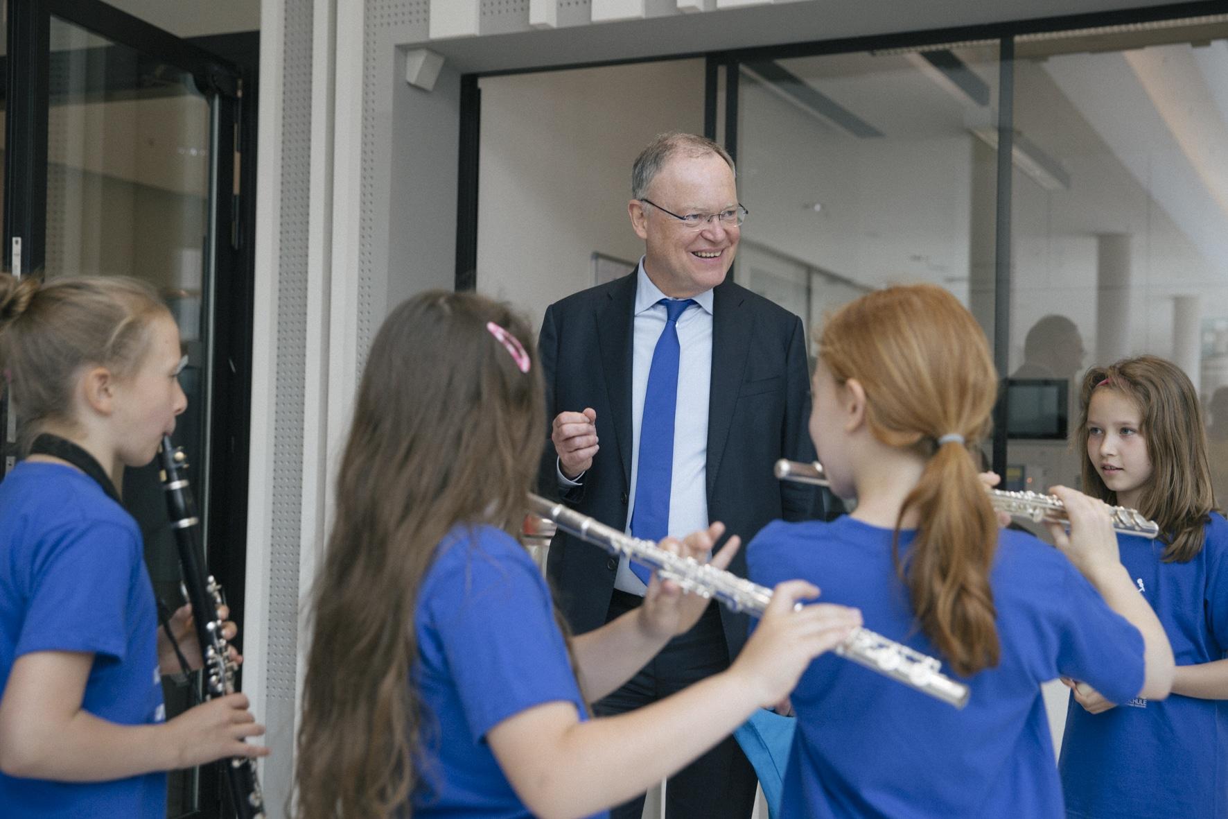 Stephan Weil, Niedersächsischer Ministerpräsident. Foto: Viola Maiwald