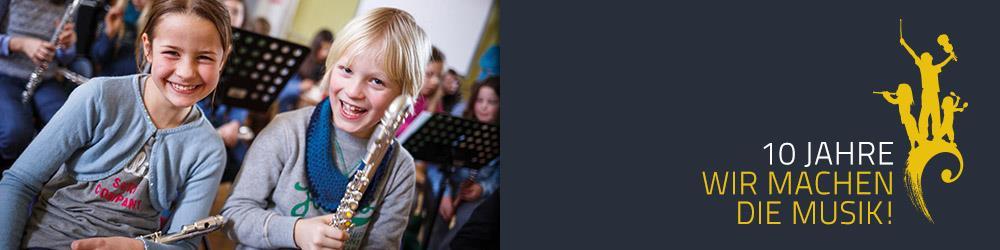 """Geburtstagsfeier zum 10-jährigen Bestehen des niedersächsischen Musikalisierungsprogramms """"Wir machen die Musik!"""" – Kinder aus hannoverschen Kitas und Grundschulen zu Gast im Niedersächsischen Landtag"""